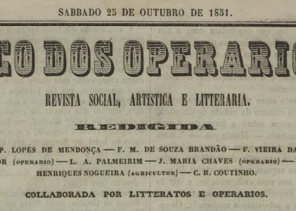 The Beginnings of Social Economy in Portugal